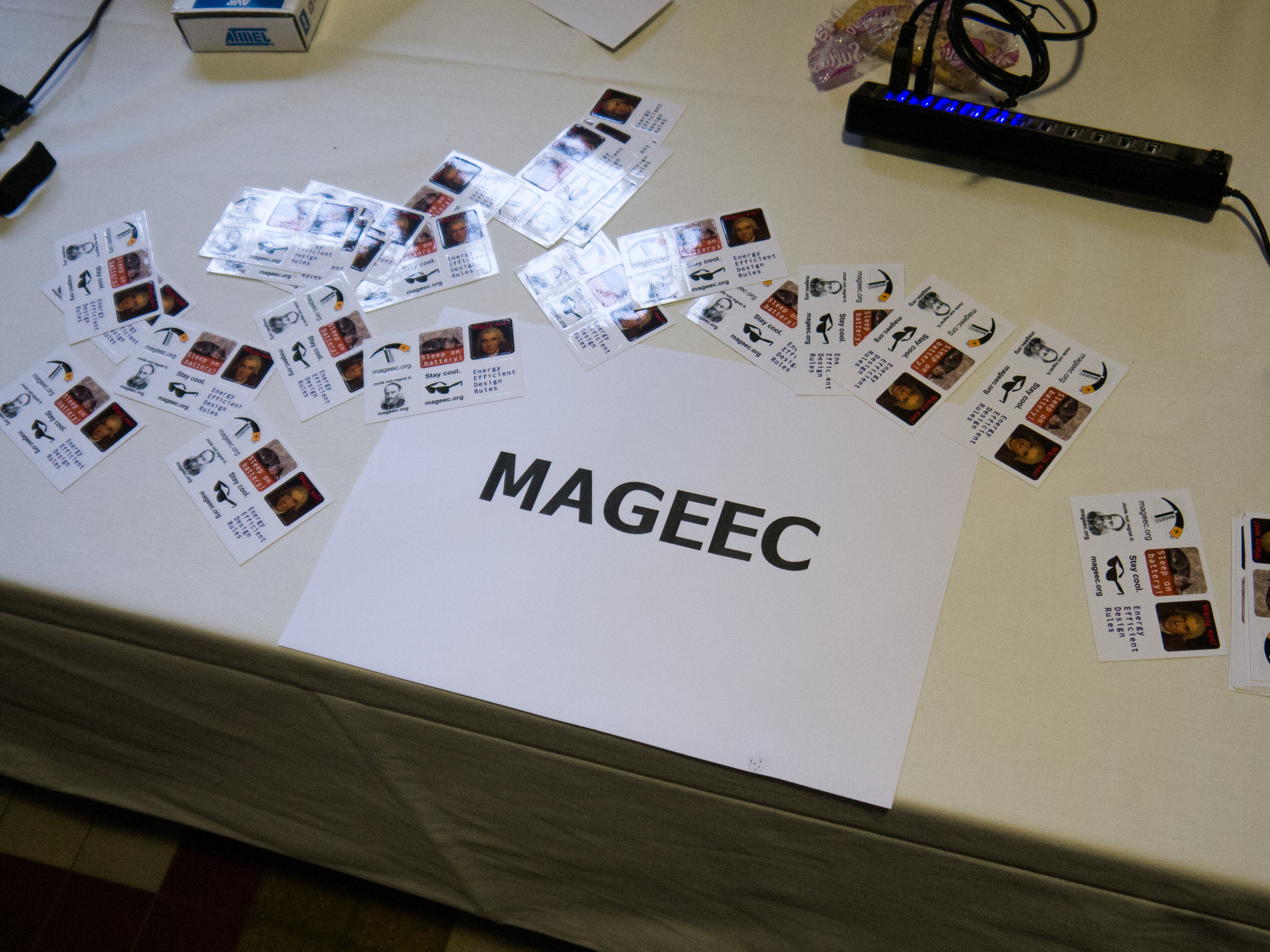 MAGEEC Stand